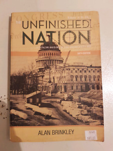 Unfinished Nation 6th edition