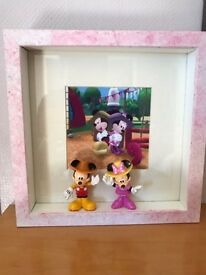 Minnie Mouse and Mickey Mouse frame