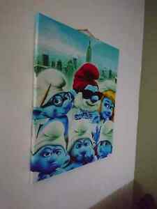 Wrapped Canvas Wall Art Print 24 x 30 entitled The Smurfs - Movi London Ontario image 2