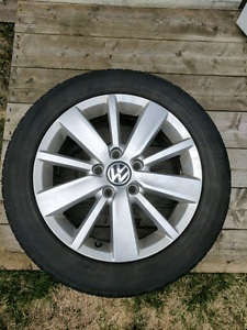VW mags with summer tires