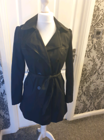 New look spring coat size 10