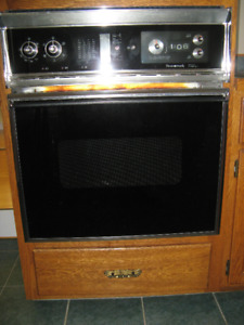 """27"""" Stainless/Chrome Wall Oven"""