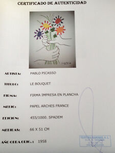 Picasso limited edition hand proofed lithos 1961 & 1958 ..