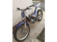 Sherco 290 Trials bike