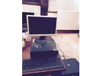 LeNovo ThinkCentre A70 with Windows 10, and Canon printer/scanner/copier