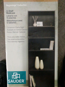 BNIB 5 shelf book case - $40