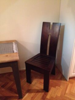 2 x Solid wooden chairs. MUST SELL Maylands Bayswater Area Preview