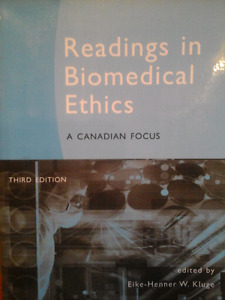 Readings in Biomedical Ethics Textbook