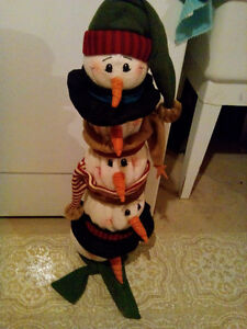Telescopic Snowman Decoration