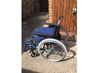 Invacare lightweight and robust wheelchair
