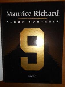 MAURICE RICHARD 9 - Album Souvenir