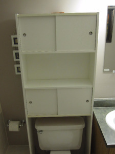 Storage Tower for Bathroom