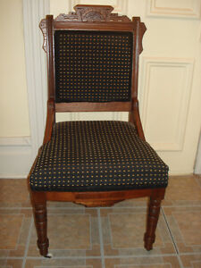 Chaise antique American Eastlake des années 1870's