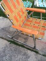 Old rocker chair rare