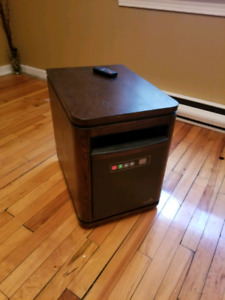 Duraflame Heater with Remote
