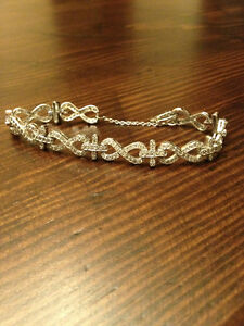 STERLING SILVER BRACELET FROM KLEINFELD'S NEW YORK