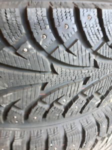 4 new ipike 235-75 r15 studded winter tires