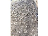Free top soil /rubble from garden