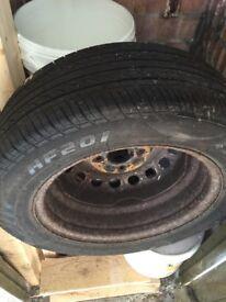 Handa spare tyre