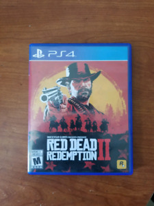 Red dead redemption 2 ps4  60$