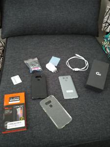 LG G6 comme neuf avec accessoires