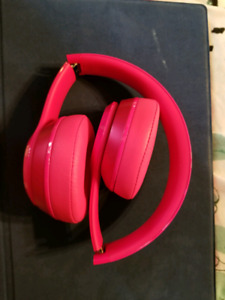 Hot Pink Beats Wired Solo2 Headphones