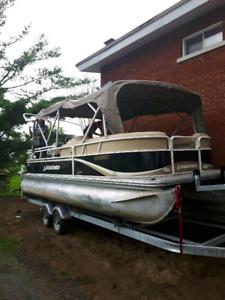 ponton legend 24 pieds 2010 moteur mercury 90hp 2012