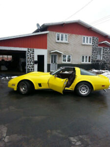 1980 Chevrolet Corvette Coupé (2 portes)