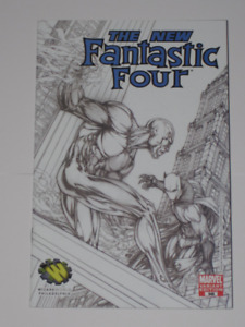 Marvel Fantastic Four#546 Michael Turner Variant comic book