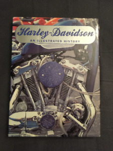 """Harley-Davidson  """"An Illustrated History -- coffee table book"""