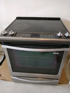 Whirlpool 30 inches electric range (used) $550