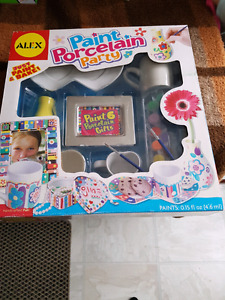 ALEX Paint Porcelain Party - Brand New, Never Opened