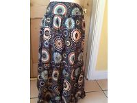 Papaya size 14 long skirt 100% cotton
