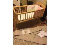 Rocking crib