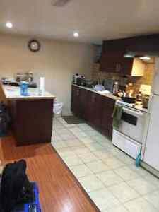 One bedroom basement for rent in  scarborough
