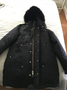 Moose Knuckle Winter Jacket- Black Mens L