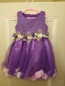 3T Flower Girl Dress with Floating Petals
