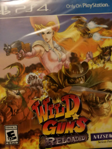 Wild Guns Reloaded Ps4 (sealed)