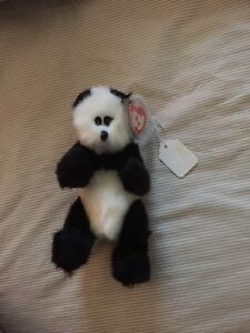 Beanie baby bear in excellent condition