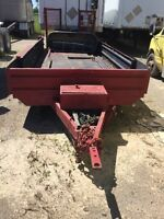 Tandem axle 16ft HD trailer