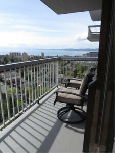 Furnished one-bedroom suite to rent.  Available July 1st