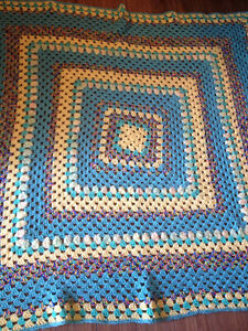 Crochet Large Afghan and other handmade items