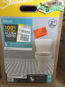 American Standard Reliant Toilets (Standard height/Round)