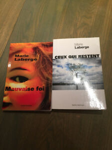 Marie Laberge 2 romans