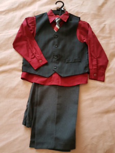 Boys Dress Outfit Sz 7