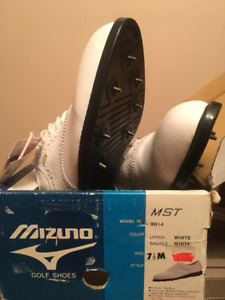Mizuno Golf Shoes - Mens - Size 7-1/2M