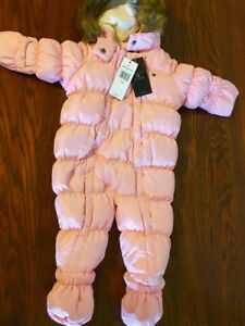 BRAND NEW-TOMMY HILLFIGER-Baby girl snowsuit