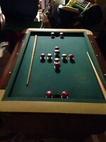 1940/1950's bumper pool table by valley