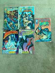 5 comic books from 1993 $20 for all