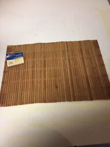 95 NEW Bamboo Placemats with tags